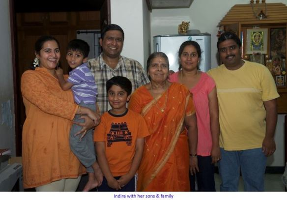 indira and family-captioned