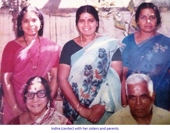 Indira and parents -captioned