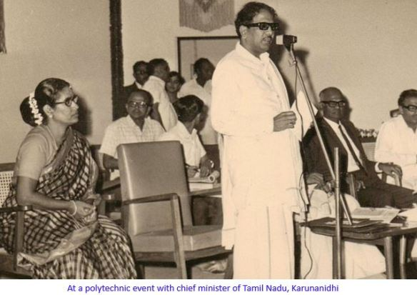 with karunanidhi speaking -captioned