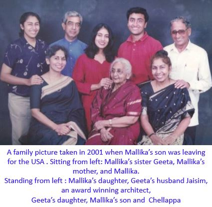 mallika family-captioned
