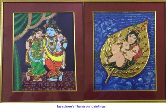 paintings captioned