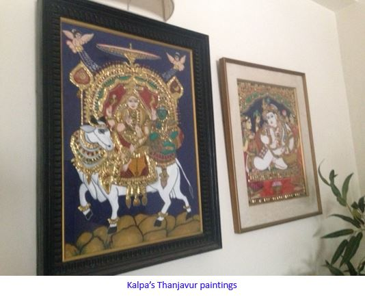 thanjavur paintings-captioned