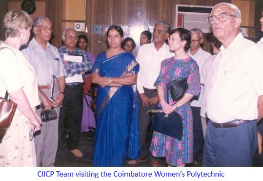 CIICP Team Visiting GPCW-captioned