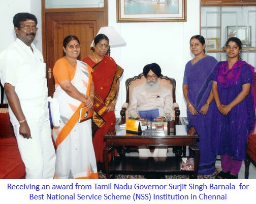 Recieving Award from TN Governor -captioned