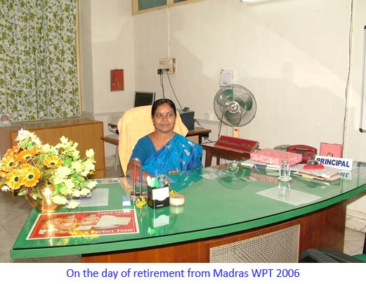 Retirement DDGPCW, Chennai -captioned