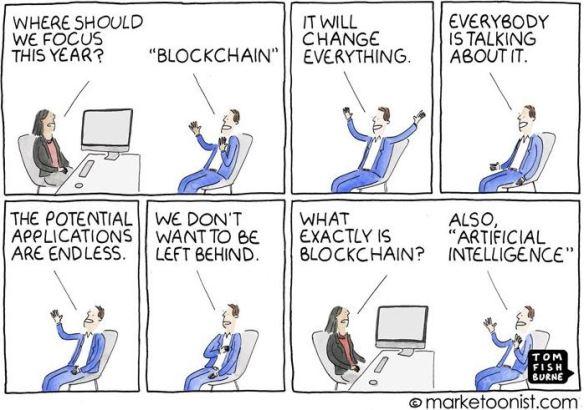 Cartoon - all new technology