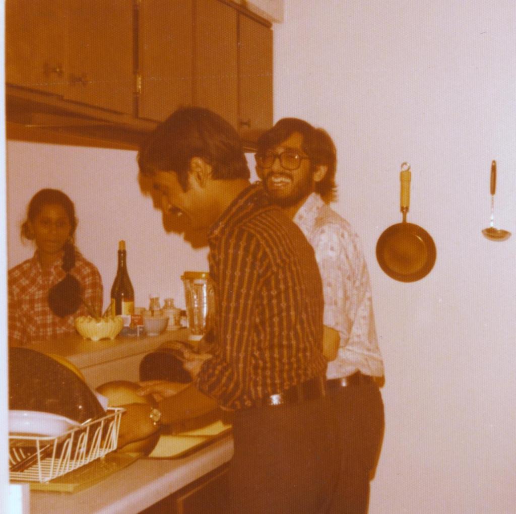 Seetha with Mohan C & Anand Tripathi